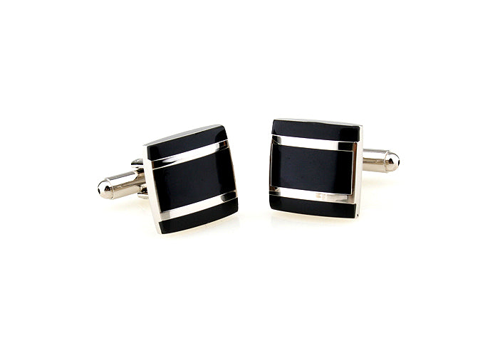 Classic Cufflinks - Parallels - The Little Link