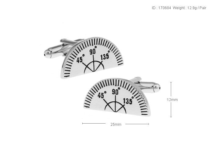 Novelty Cufflinks - Compass - The Little Link