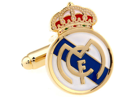 Novelty Cufflinks - Real Madrid - The Little Link