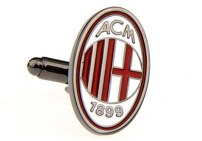 Novelty Cufflinks - A.C Milan - The Little Link