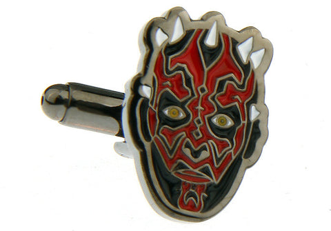 Novelty Cufflinks - Darth Maul - The Little Link