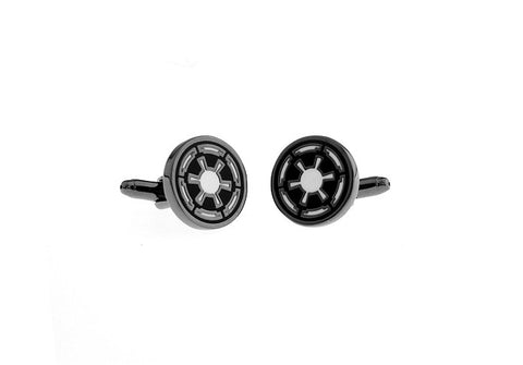 Black Superheros Starwars Cufflinks - Galactic Republic