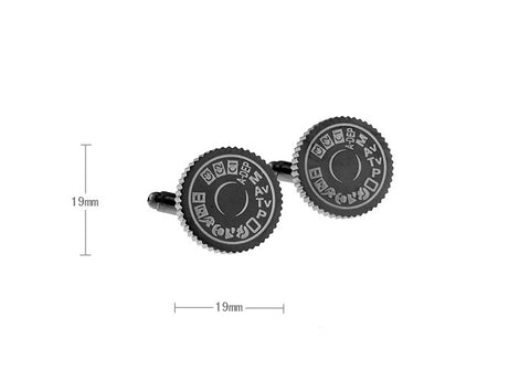 Novelty Cufflinks - DSLR - The Little Link