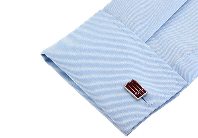 Novelty Cufflinks - Race Track - The Little Link