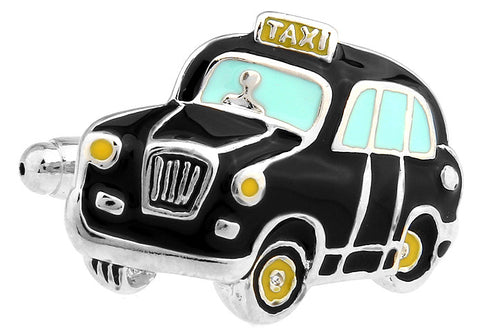 Novelty Cufflinks - London Cab - The Little Link