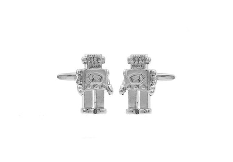 Novelty Cufflinks - Robot - The Little Link