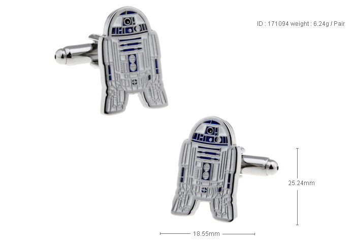 Novelty Cufflinks - Droid - The Little Link