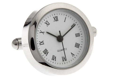Novelty Cufflinks - Clock Jacob - The Little Link