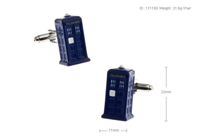 Novelty Cufflinks - Dr Who - The Little Link