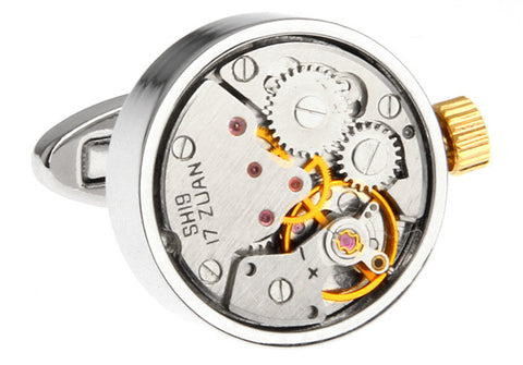 Watch Movement Cufflinks - Watch Movement George - The Little Link