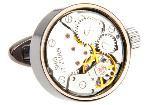 Watch Movement Cufflinks - Watch Movement Paul - The Little Link