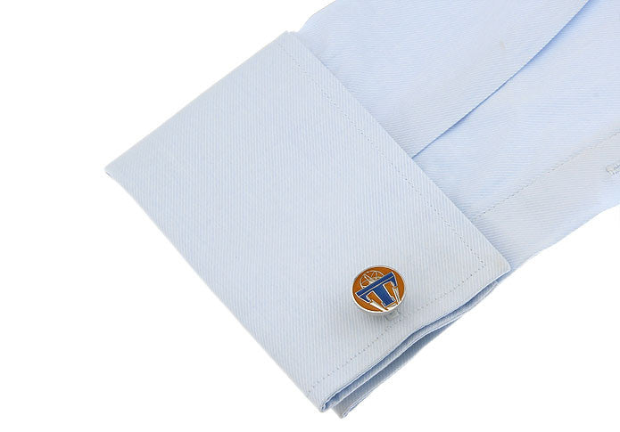 Novelty Cufflinks - Tomorrowland Badge - The Little Link