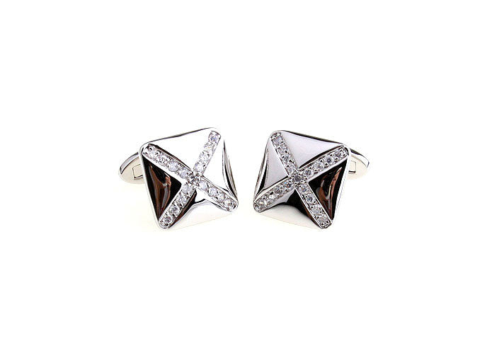 Novelty Cufflinks - X Marks The Spot - The Little Link