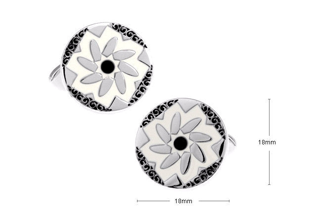 Classic Cufflinks - Blossoms - The Little Link