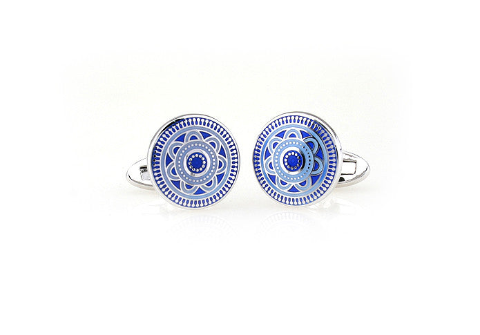 Classic Cufflinks - China Blue - The Little Link