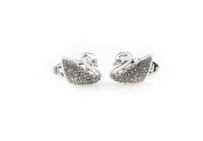 Novelty Cufflinks - Swan - The Little Link