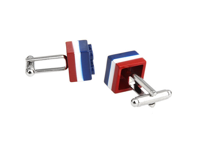 Novelty Cufflinks - French Lego - The Little Link
