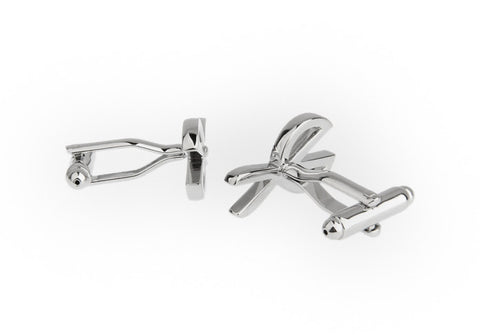 Silver Novelty Cufflinks - Scissorhands