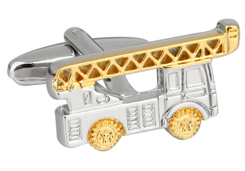 Novelty Cufflinks - Firetruck - The Little Link