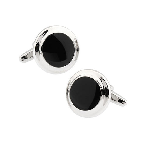 Classic Cufflinks - Onyx - The Little Link