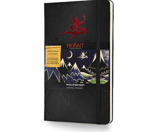 Limited Edition Moleskine Hobbit Hardcover Notebook - Ruled