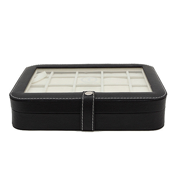 Giftboxes - Leather Cufflinks Display Case (20 pairs) - The Little Link