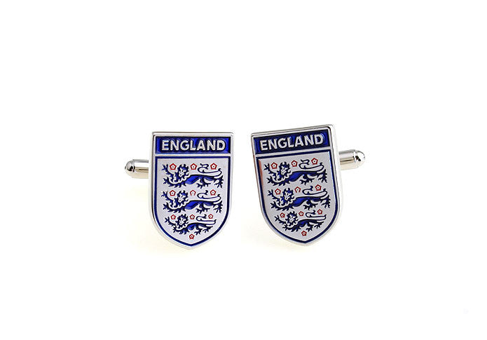 Novelty Cufflinks - England Football Team - The Little Link