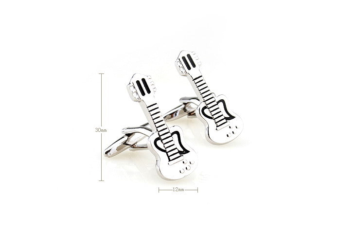 Novelty Cufflinks - Guitarist - The Little Link