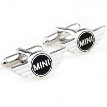 Novelty Cufflinks - Mini Logo - The Little Link