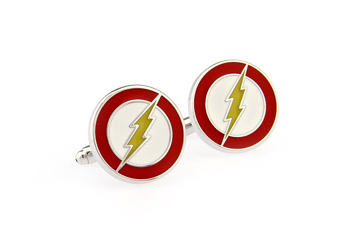 Novelty Cufflinks - Lightning - The Little Link