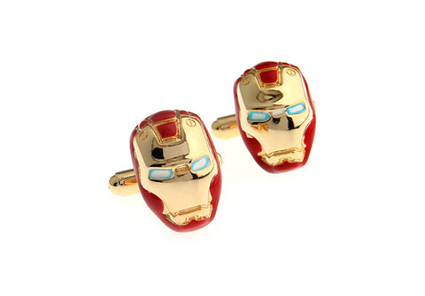 Novelty Cufflinks - Iron Man - The Little Link
