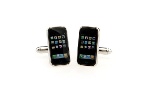 Novelty Cufflinks - iPhone - The Little Link