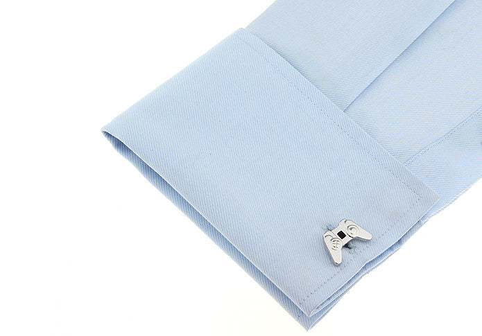 Novelty Cufflinks - Game Console (Silver) - The Little Link