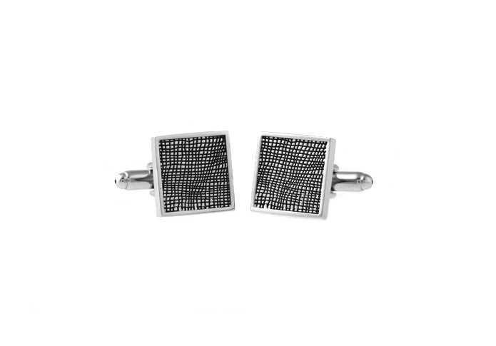 Classic Cufflinks - Tessellated Weaver - The Little Link