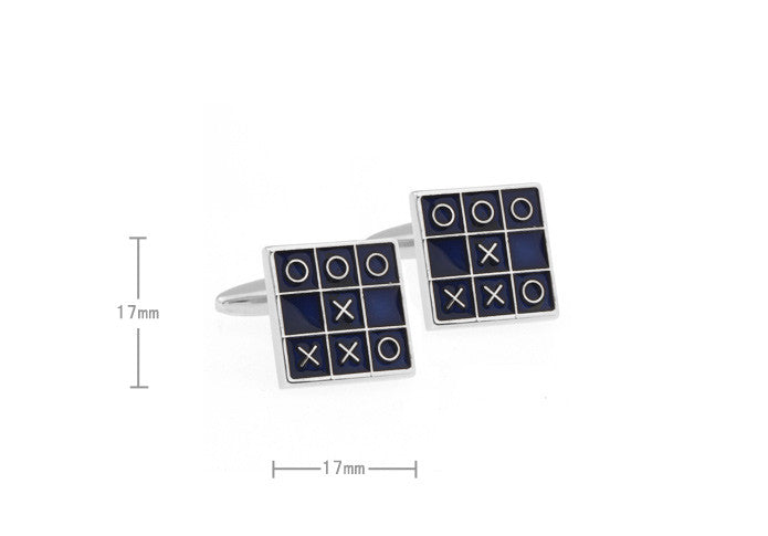 Classic Cufflinks - Tic Tac Toe - The Little Link