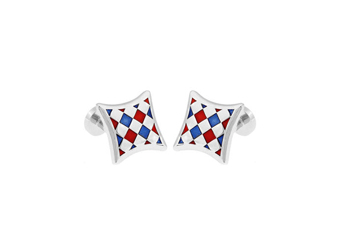 Classic Cufflinks - Checkered - The Little Link