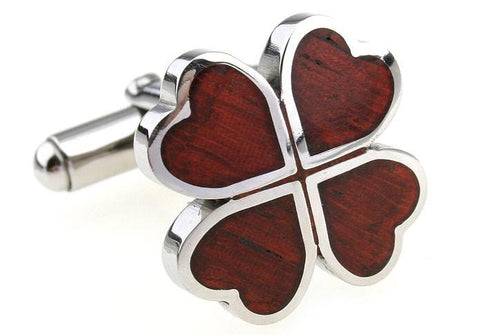 Wood Four-leaf Clover