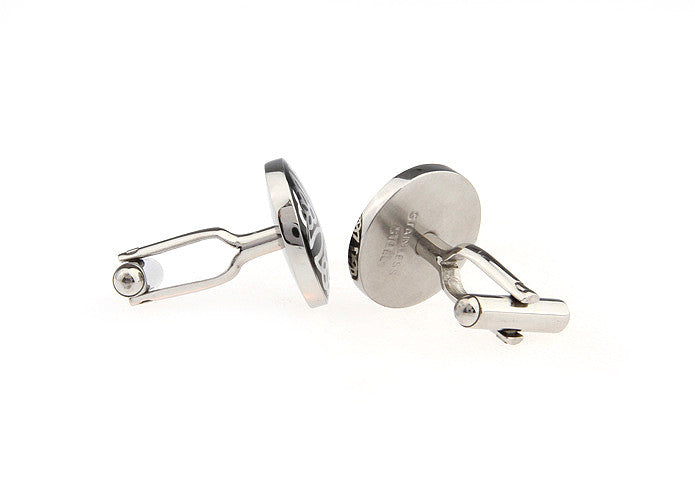 Classic Cufflinks - Victorian Tulip - The Little Link
