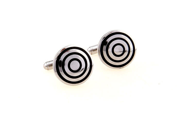 Classic Cufflinks - Circles - The Little Link