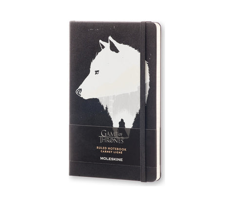 Limited Edition Game of Thrones Notebook - Black