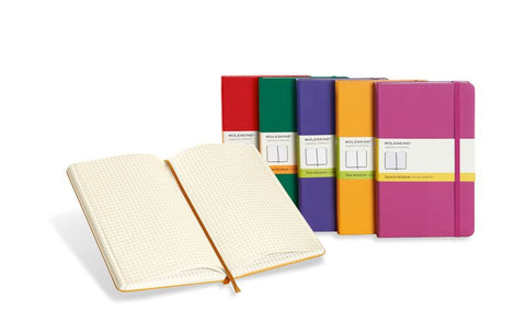 Moleskine White Hardcover Notebooks