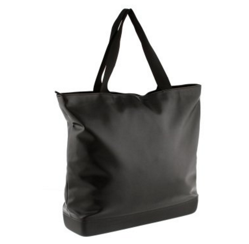 Moleskine Classic Large Leather Tote Bag - Black
