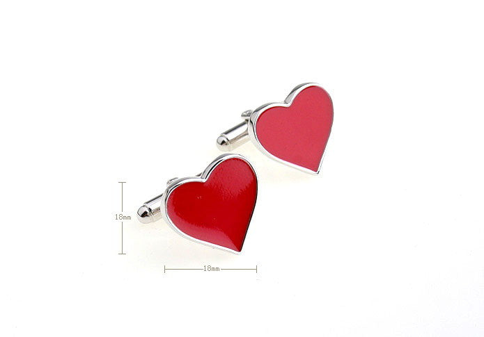 Novelty Cufflinks - I Love You - The Little Link