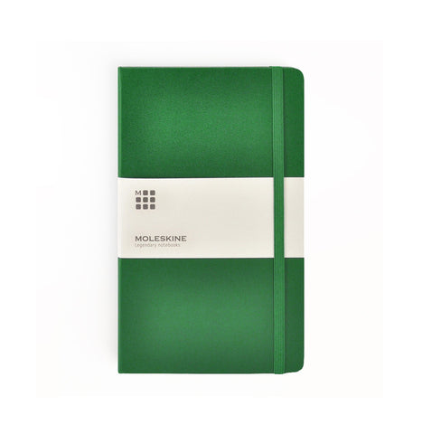 Moleskine Oxide Green Hardcover Notebooks