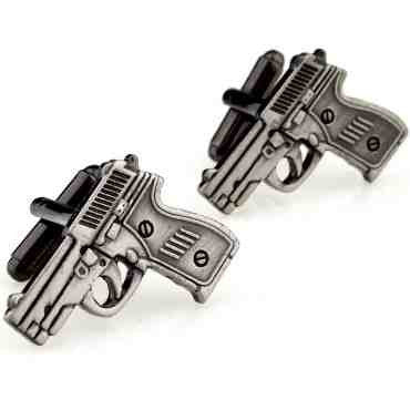 Novelty Cufflinks - Pistol - The Little Link