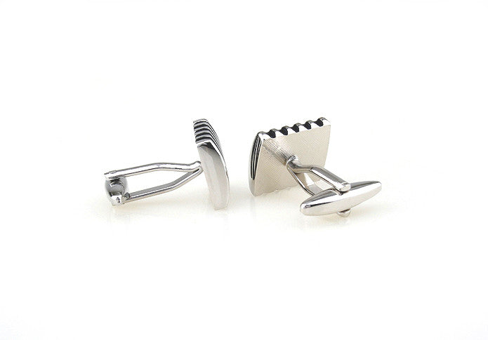 Classic Cufflinks - Blue Laser - The Little Link