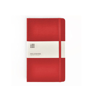 Notebook - Moleskine Red Hardcover Notebooks - The Little Link