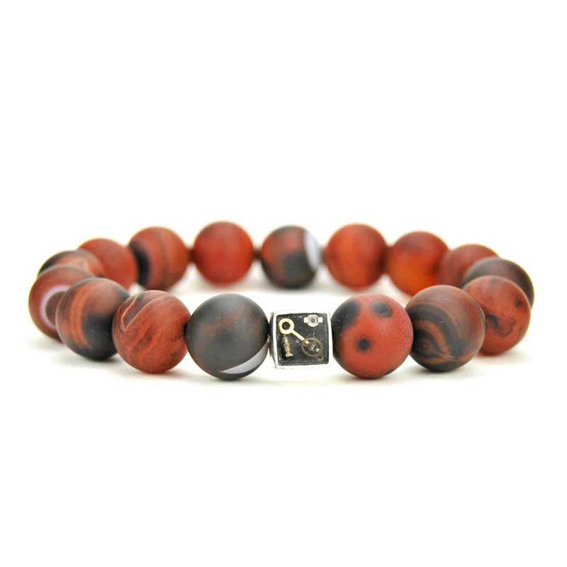Bracelet - Agate Bead Bracelet - The Little Link