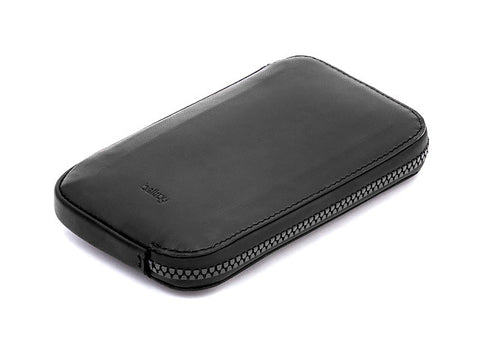 Bags - Bellroy All Conditions Leather Phone Pocket - Black - The Little Link