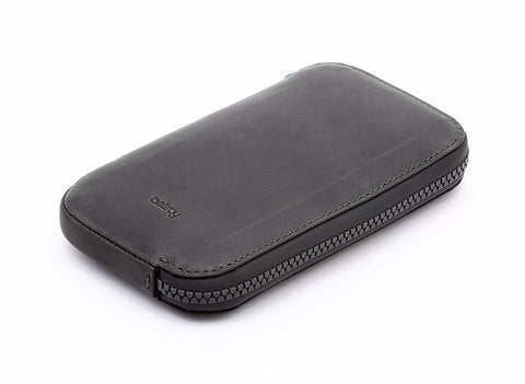 Bags - Bellroy All Conditions Leather Phone Pocket - Charcoal - The Little Link